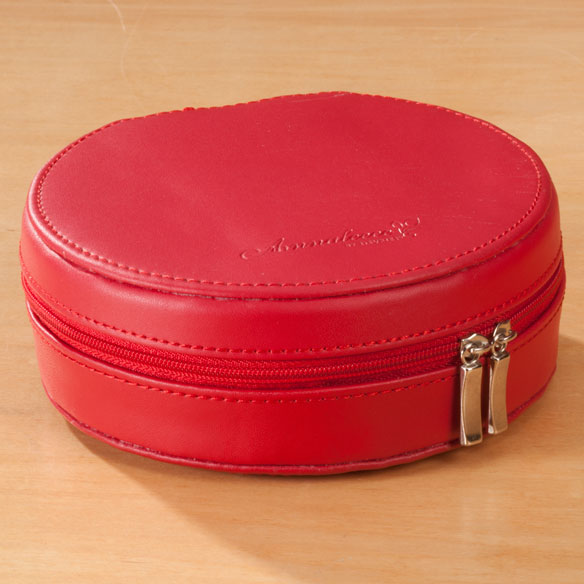 Round Travel Jewelry Case - View 3