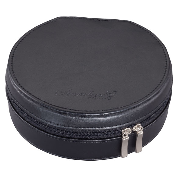Round Travel Jewelry Case - View 4