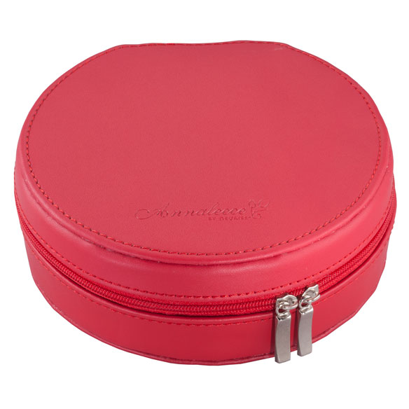 Round Travel Jewelry Case - View 5