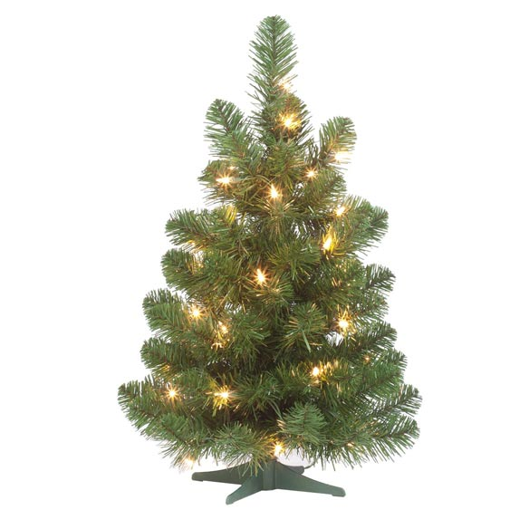 2' Pre-lighted Oregon Fir - View 2