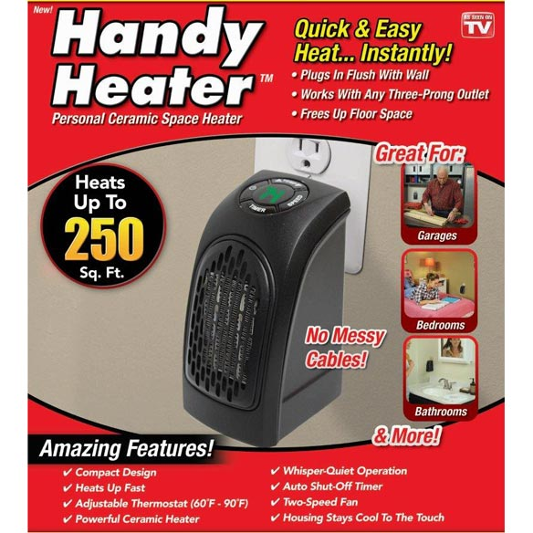 As Seen On TV Handy Heater™ - View 2