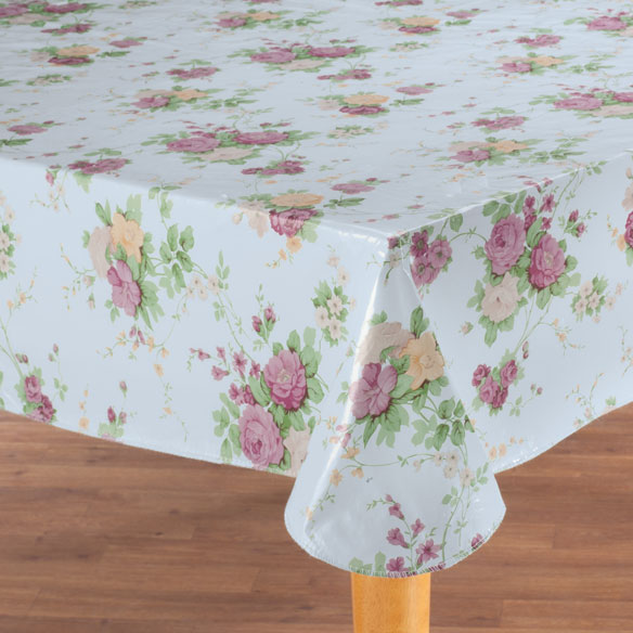 Vintage Floral Vinyl Tablecovers by Home-Style Kitchen™ - View 2