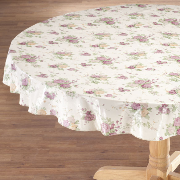 Vintage Floral Vinyl Tablecovers by Home-Style Kitchen™ - View 3