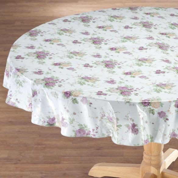 Vintage Floral Vinyl Tablecovers by Home-Style Kitchen™ - View 4
