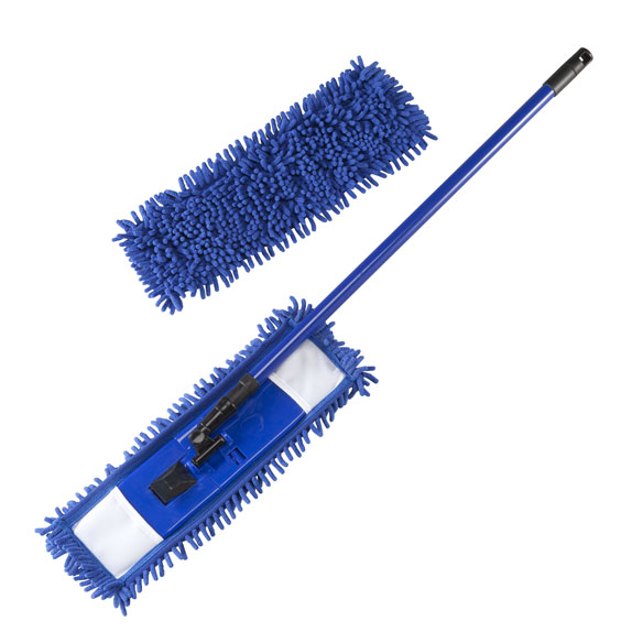 how to clean microfiber mop