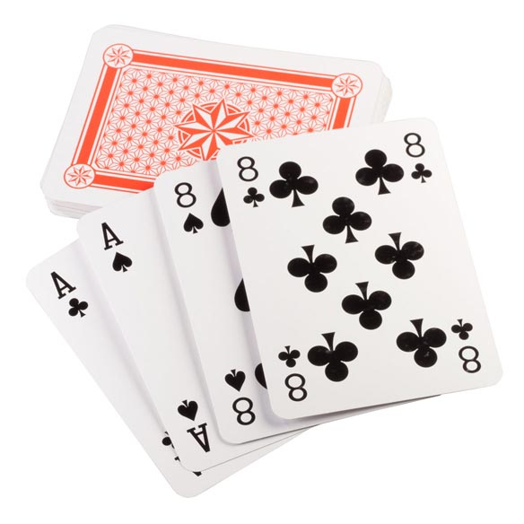 Jumbo Playing Cards - View 2