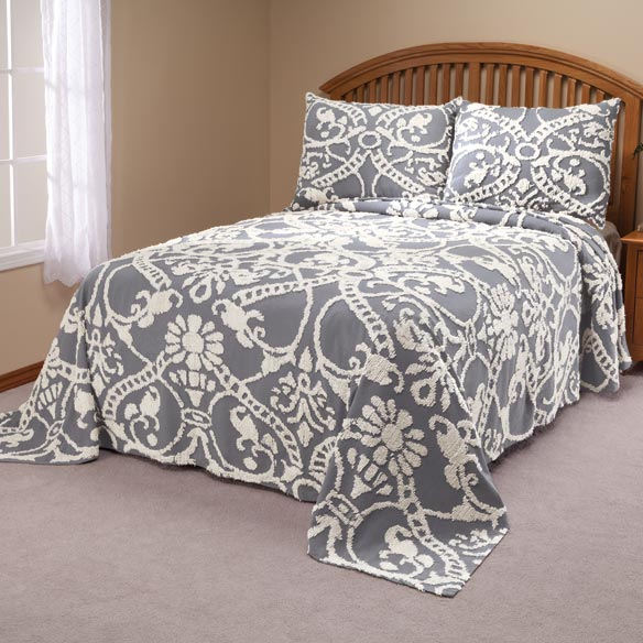 The Adele Chenille Bedspread by OakRidge Comforts™ - View 2