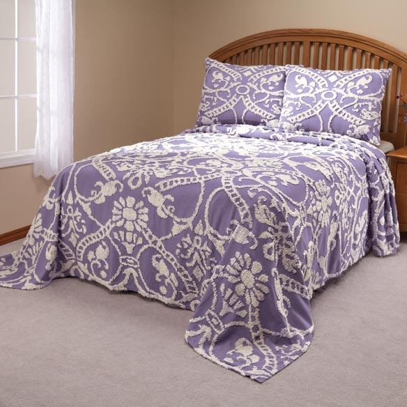 The Adele Chenille Bedspread by OakRidge Comforts™ - View 3