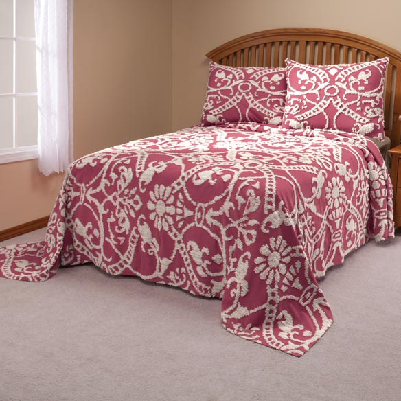 The Adele Chenille Bedspread by OakRidge Comforts™ - View 4