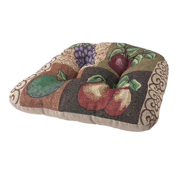 Reversible Fruit Chair Pad - View 3