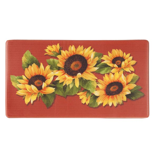 Sunflower Printed Anti-Fatigue Mat - View 2