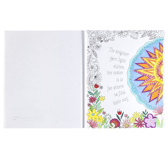 Believe, Hope, Dream Coloring Book - View 2