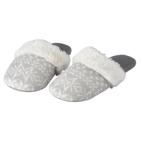 Nordic Style Slide-On Slippers - View 3