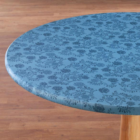The Kathleen Vinyl Elasticized Table Cover - View 2