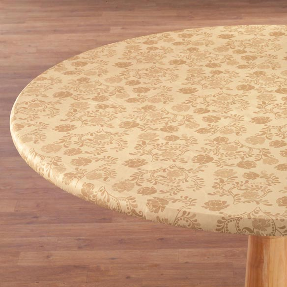 The Kathleen Vinyl Elasticized Table Cover - View 4