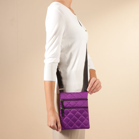 Quilted Crossbody Bag - View 4