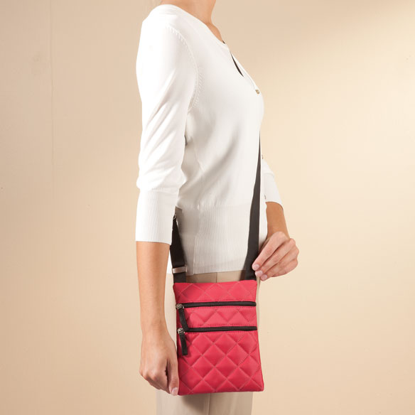 Quilted Crossbody Bag - View 5