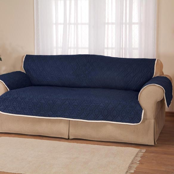 5 star reversible waterproof extra long sofa protector for Reversible waterproof furniture covers