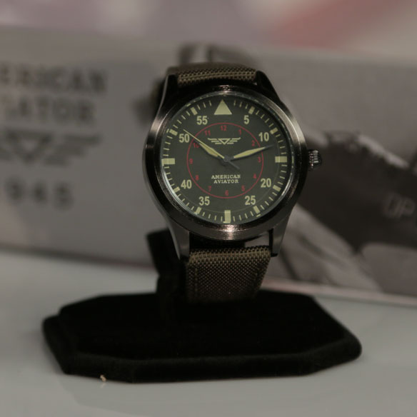 As Seen On TV American Aviator Watch™ - View 2
