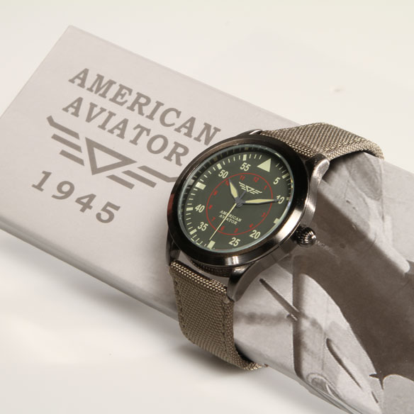 As Seen On TV American Aviator Watch™ - View 3