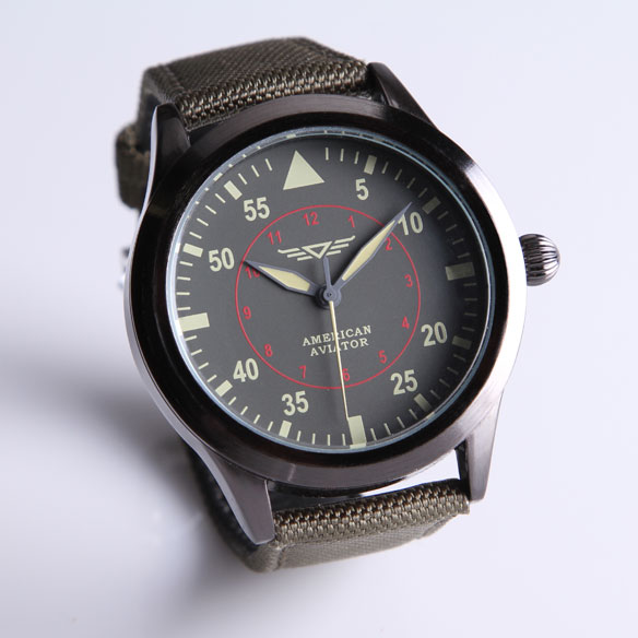 As Seen On TV American Aviator Watch™ - View 4