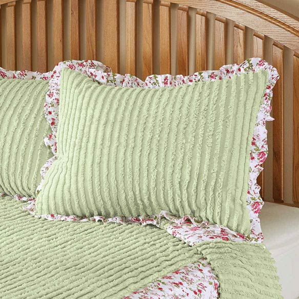 The Felicity Chenille Sham by OakRidge™ - View 2