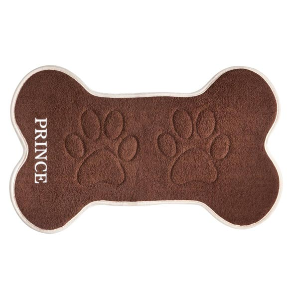 Personalized Pet Feeding Mat - View 2