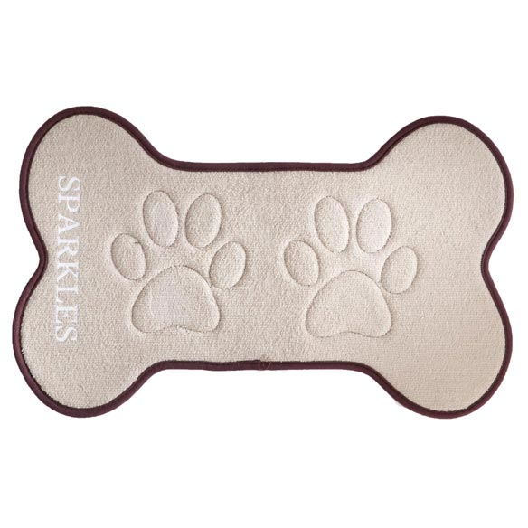 Personalized Pet Feeding Mat - View 3