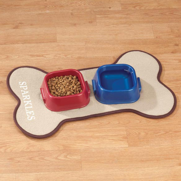 Personalized Pet Feeding Mat - View 4