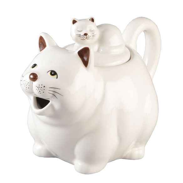 Cat Teapot by Home-Style Kitchen™ - View 2