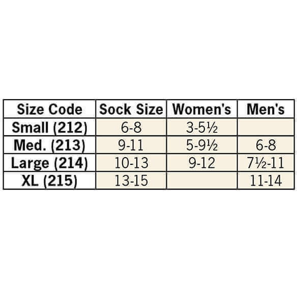 Healthy Steps™ Wide Calf Compression Socks, 15–20 mmHg - View 5