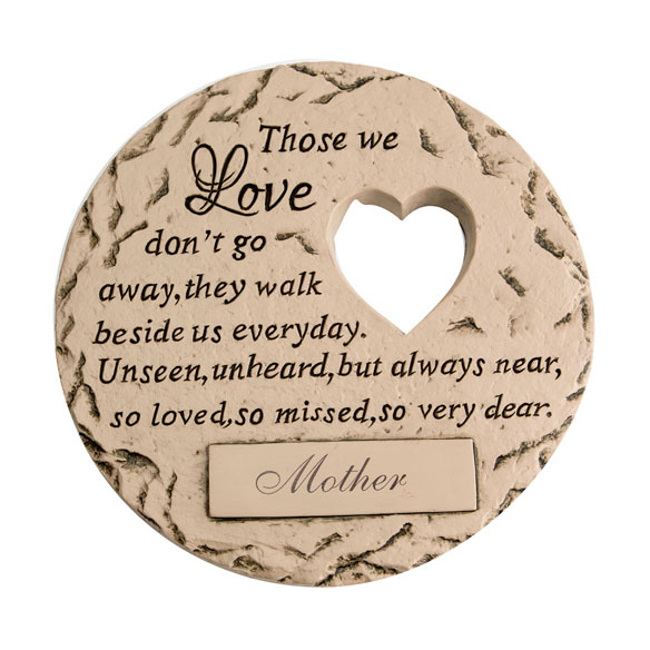"Personalized ""Those We Love"" Memorial Stone - View 2"