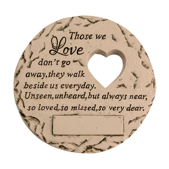 "Personalized ""Those We Love"" Memorial Stone - View 3"