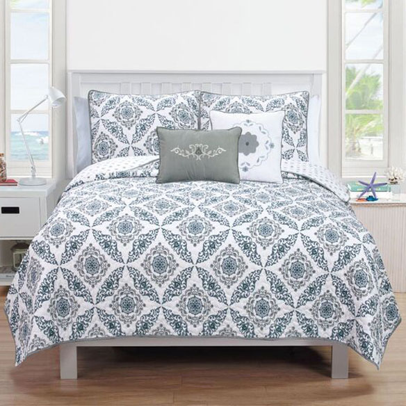 Melody Collection 5-Piece Quilt Set - View 2