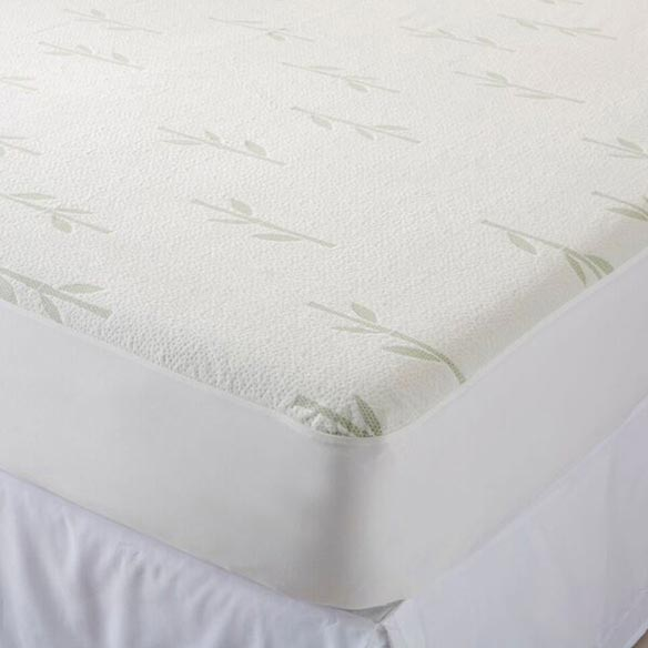 Bamboo Hypoallergenic Waterproof Mattress Protector - View 2