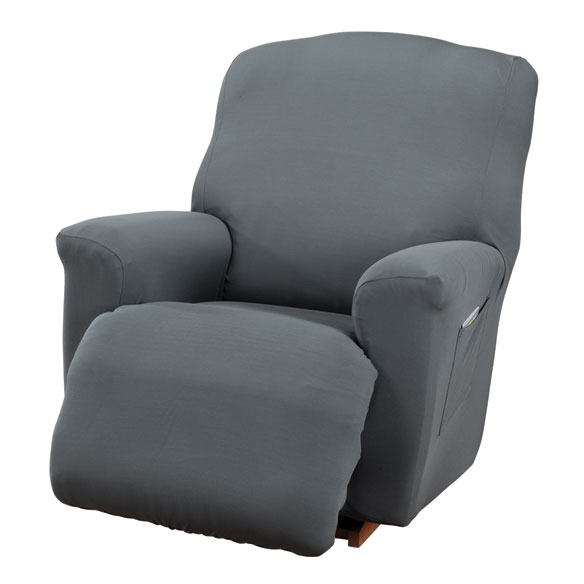 Corduroy Recliner Stretch Furniture Cover - View 2