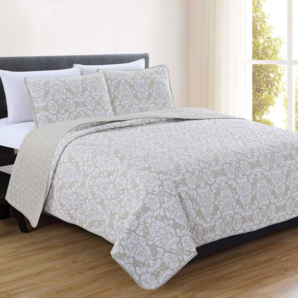 Isabel Collection 3-Piece Quilt Set - View 2