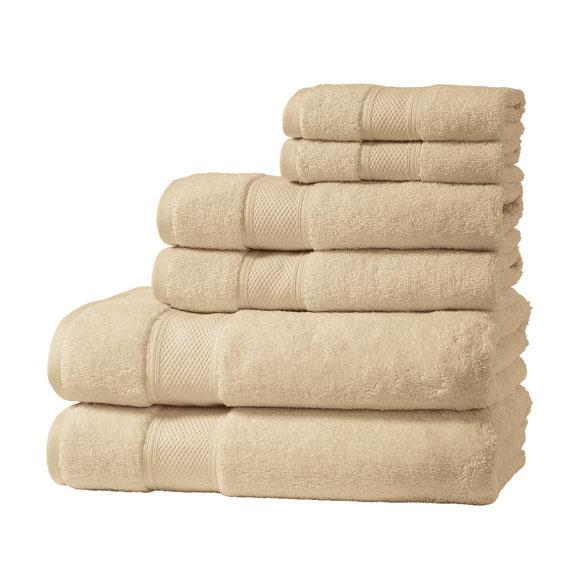 Santorini Collection 6 Piece Luxury Towel Set Walter Drake