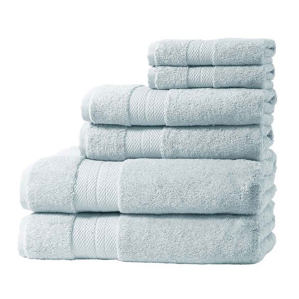 Geneva Collection 6-Piece Luxury Towel Set - View 4