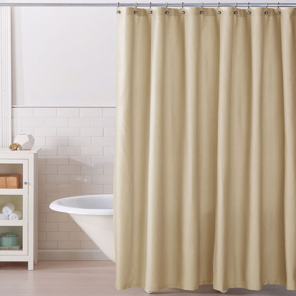 Monroe 100 Cotton Shower Curtain Walter Drake