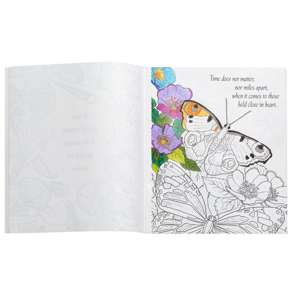 Colors of the Seasons Color by Number Coloring Book - View 3