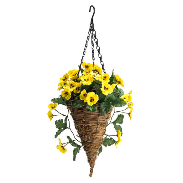 Fully Assembled Pansy Hanging Basket by OakRidge™ Outdoor - View 2