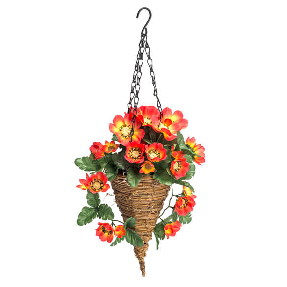 Fully Assembled Cosmos Hanging Basket by Oakridge™ Outdoor - View 2