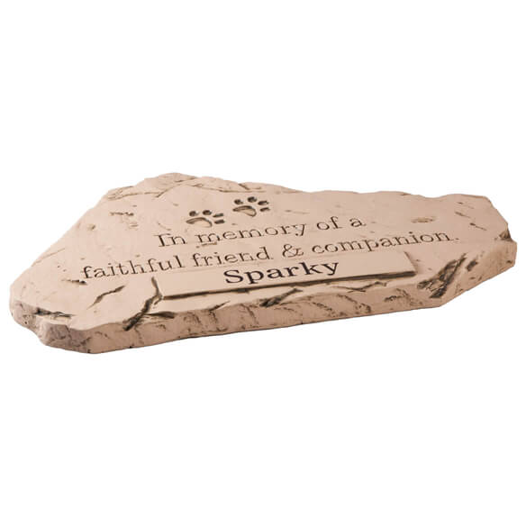 Personalized Faithful Friend & Companion Memorial Stone - View 2