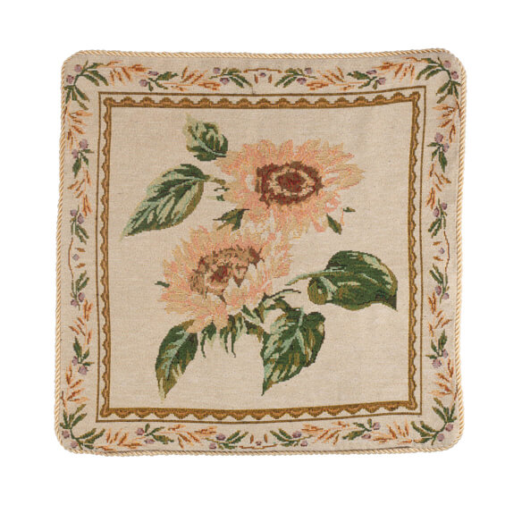 Sunflower Tapestry Pillow Cover - View 2