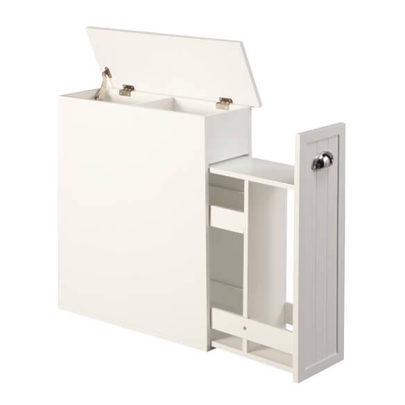 slim bathroom storage cabinet by oakridge slim cabinet walter drake. Black Bedroom Furniture Sets. Home Design Ideas