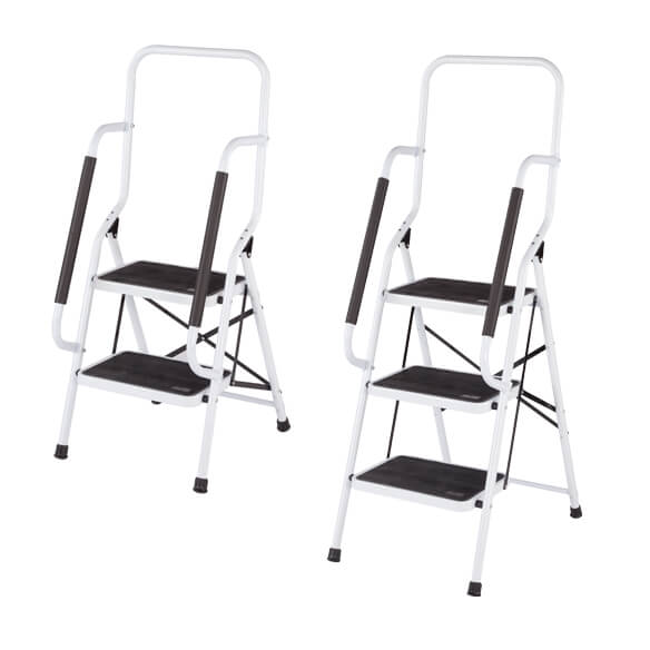 Step Ladder with Handles by LivingSURE™ - View 5