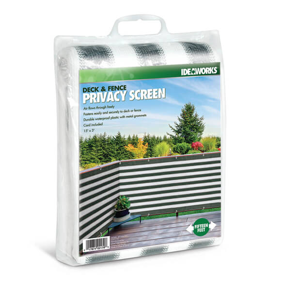 Deck Amp Fence Privacy Screen Fence Covering Walter Drake