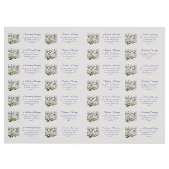 God Bless America Address Labels Set of 200 - View 2
