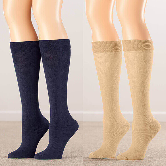 Healthy Steps™ Compression Socks 20-30 mmHg, 3 Pair - View 4